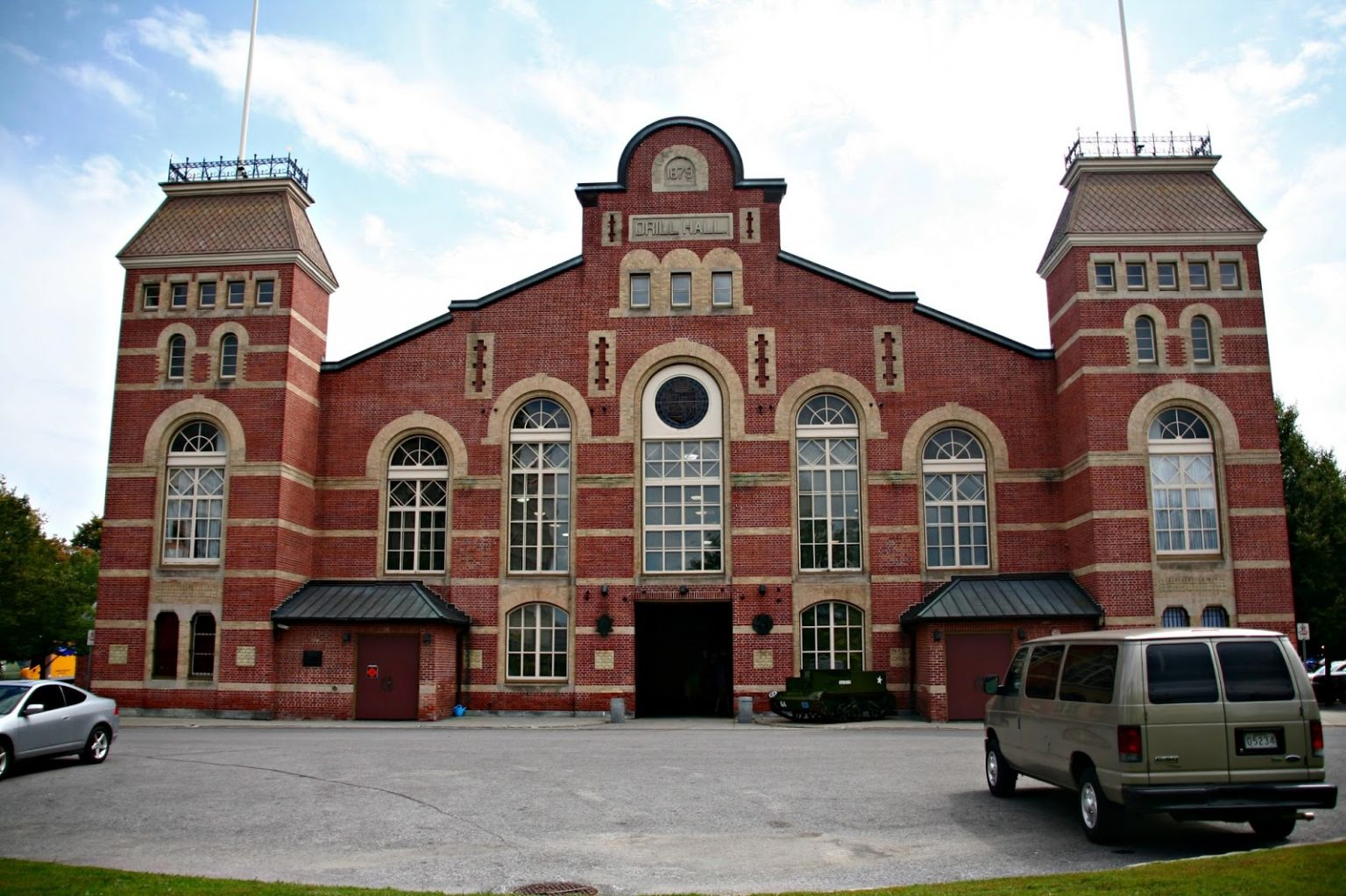 Halifax Drill Hall Built Halifax