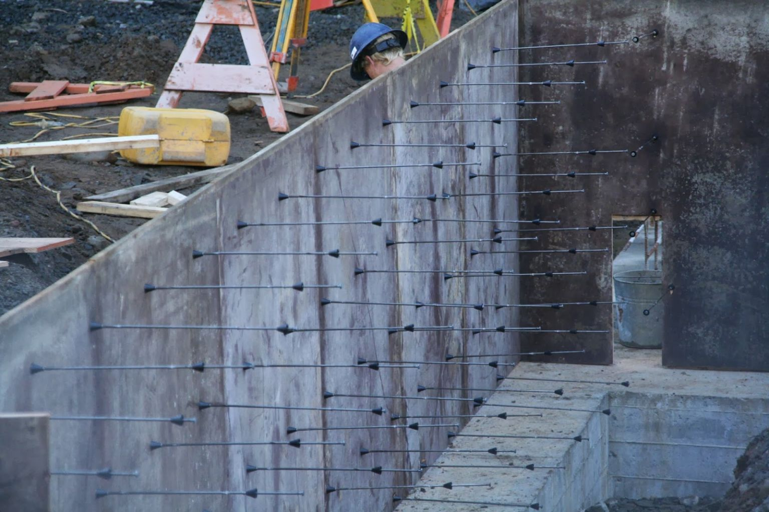 Forming Concrete Walls Built Halifax