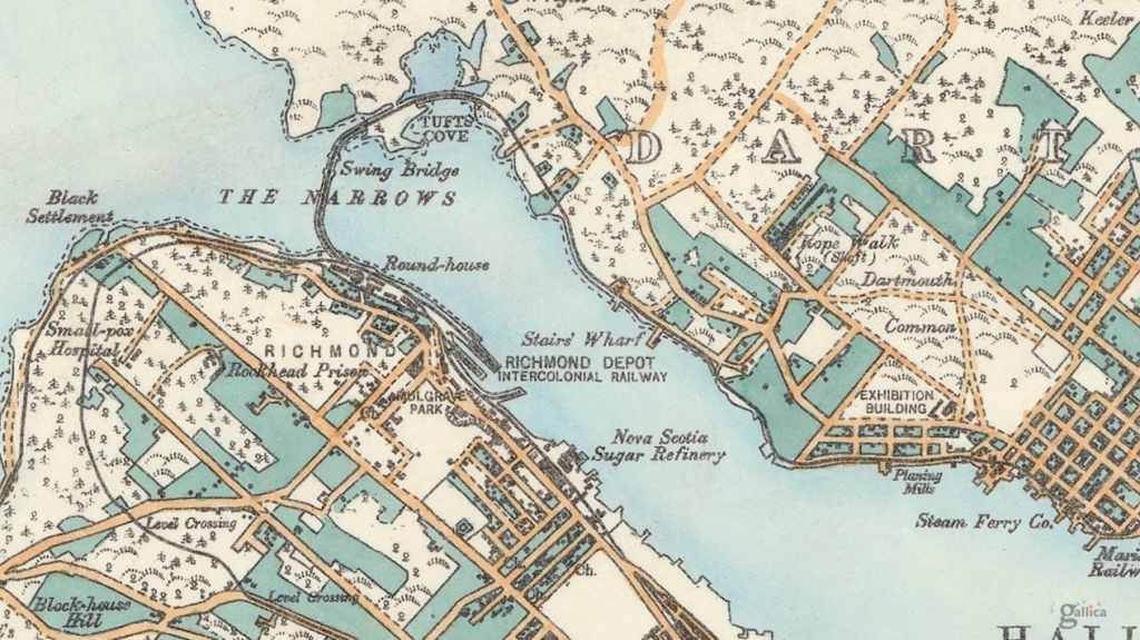1889 Hopkins Map of Halifax.