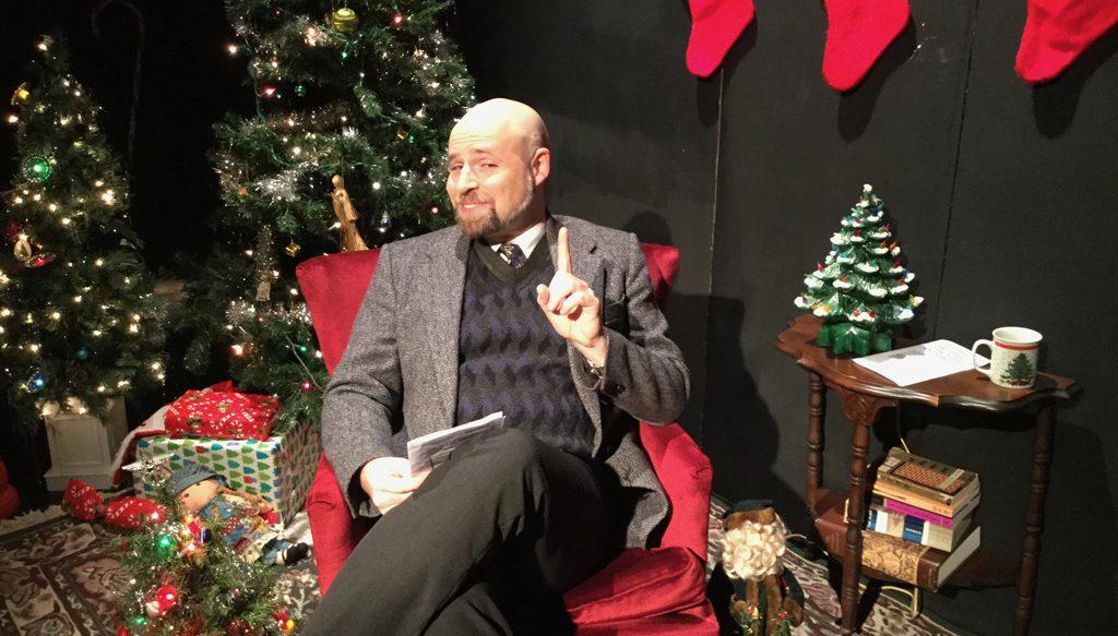 David Sedaris Christmas.Theatre Review David Sedaris Uncomfortable Christmas