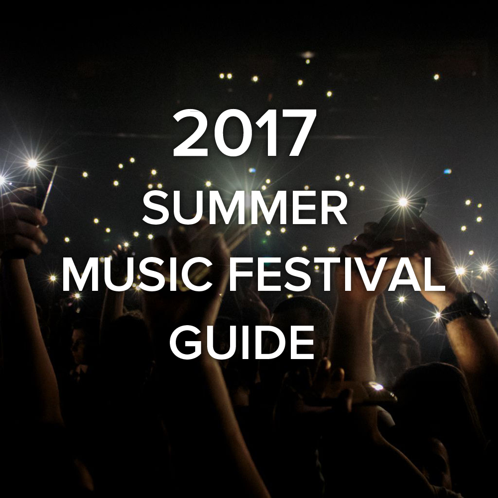 2017 East Coast Summer Music Festival Guide