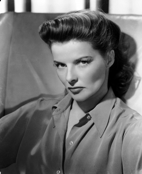 Katherine Hepburn was a movie star. Remember those?