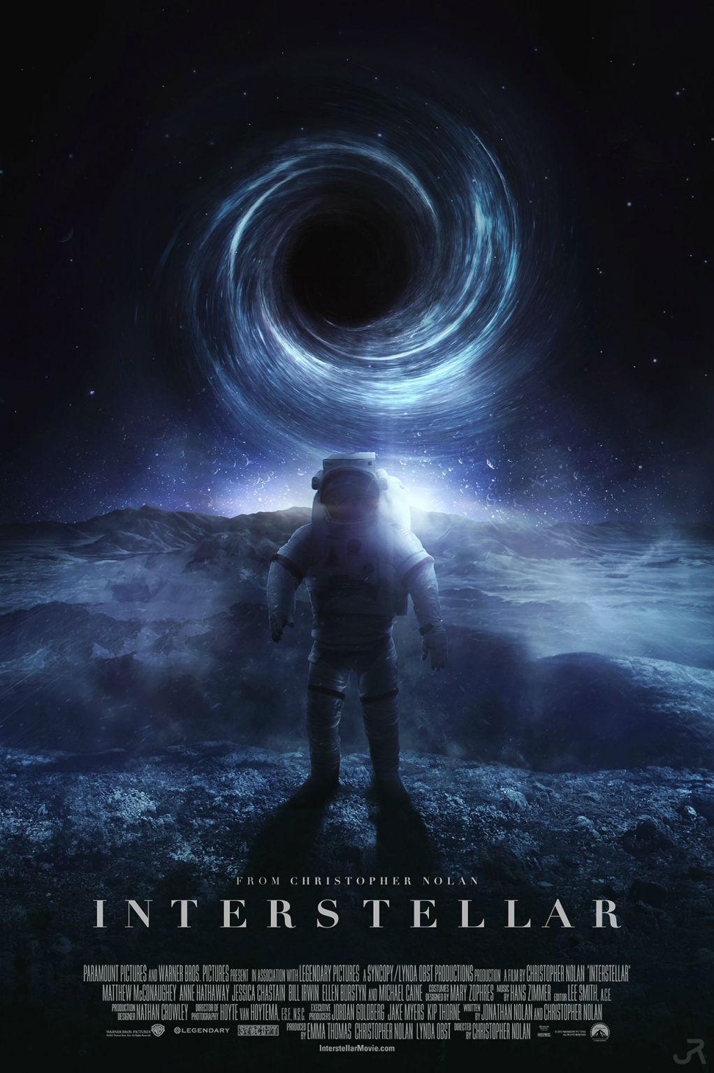 Interstellar Cover Movie Wallpaper