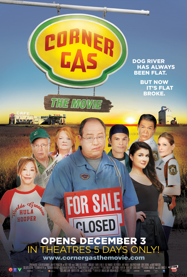Corner Gas The Movie (2014) Poster