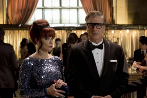 (L to R) Lauren Holly and Chris Noth in After the Ball