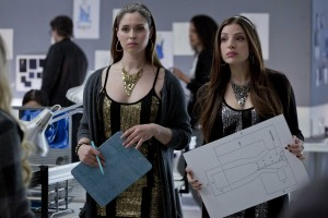 (L to R) Natalie Krill and Anna Hopkins in After the Ball