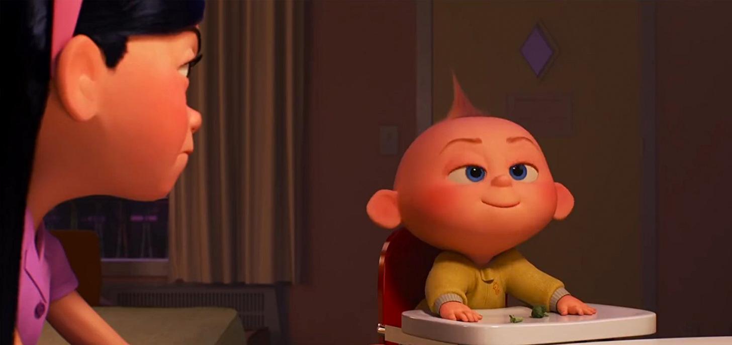 Прикольные картинки малыша из суперсемейки
