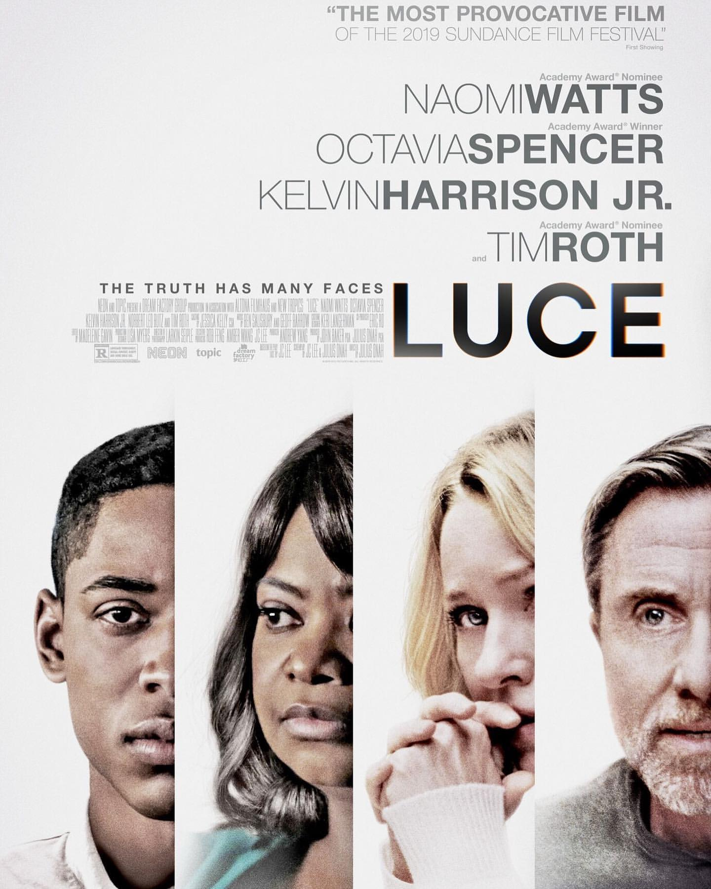 Image result for luce movie poster