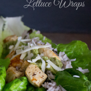 Lemon Pepper Chicken Lettuce Wraps