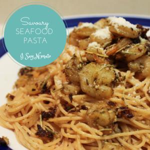 Savoury Seafood Pasta