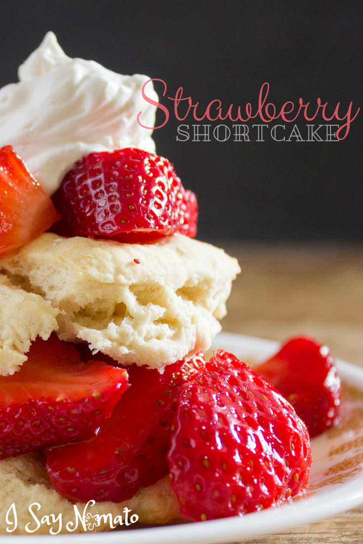 Strawberry Shortcake - I Say Nomato Nightshade Free Food Blog