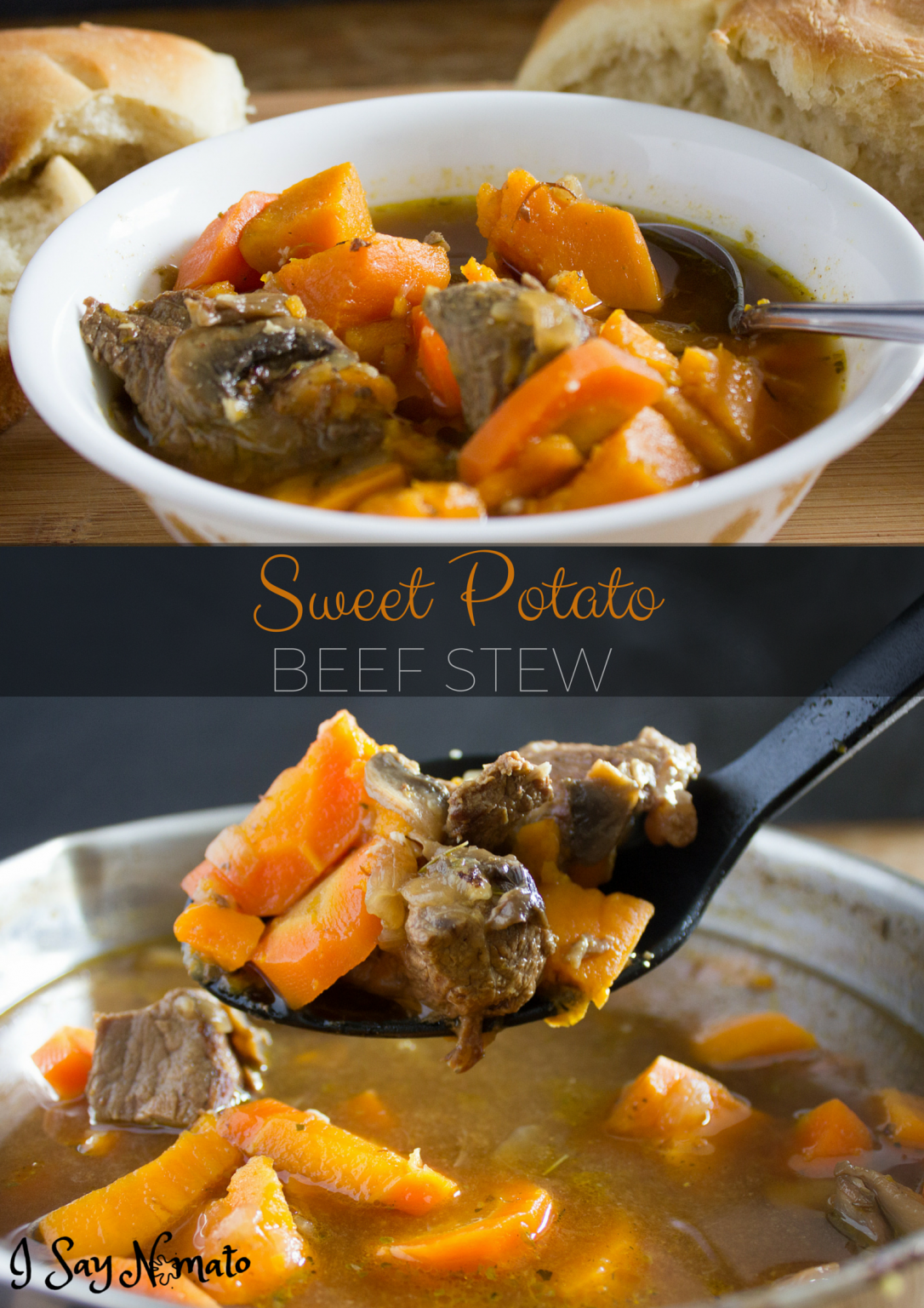 Sweet Potato Beef Stew - I Say Nomato Nightshade Free Food Blog