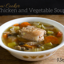 Slow Cooker Chicken and Vegetable Soup - I Say Nomato Nightshade Free Food Blog