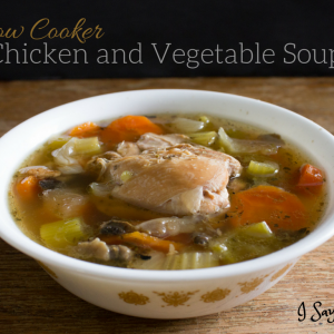 Slow Cooker Chicken and Vegetable Soup