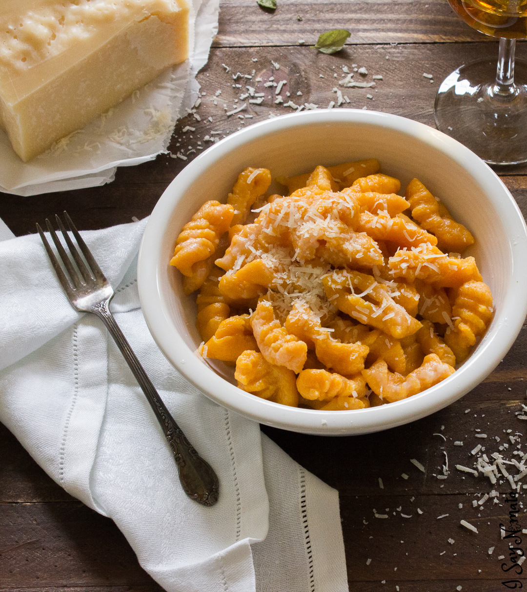 These Sweet Potato Gnocchi are light and fluffy, just like Nonna used to make!