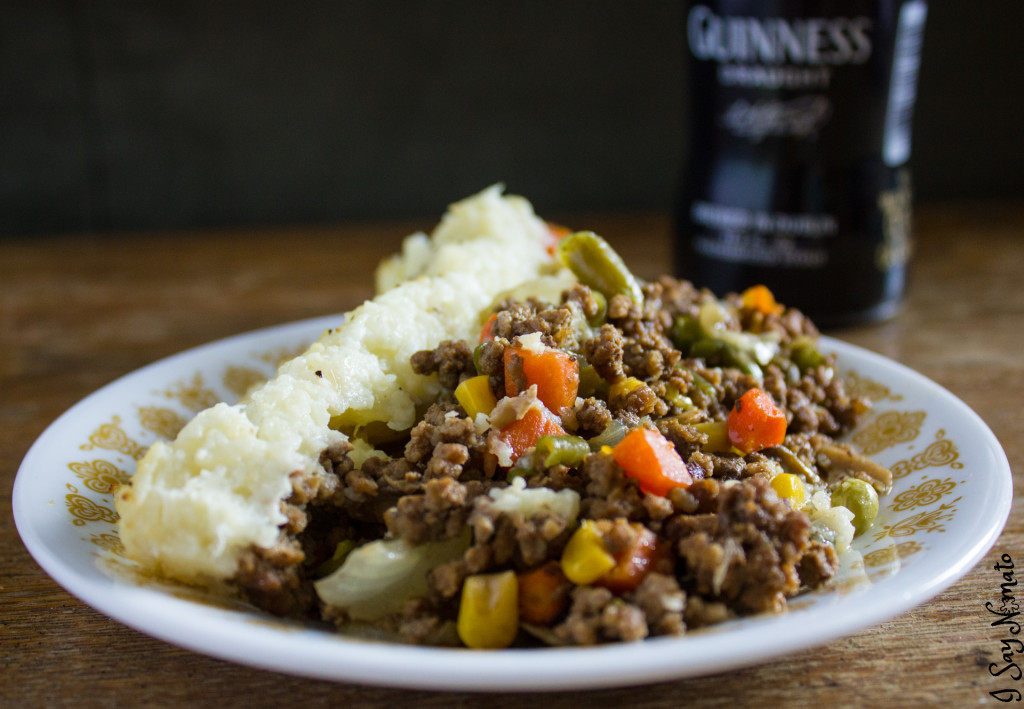 Nightshade Free Guinness Cottage Pie - I Say Nomato Nightshade Free Food Blog