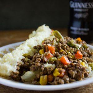 Nightshade Free Guinness Cottage Pie