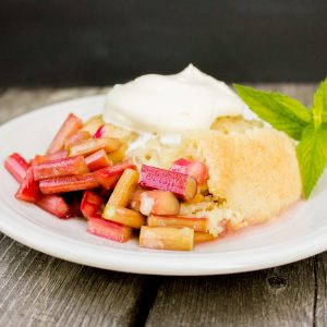 """More for Me!"" Rhubarb Crisp Recipe Video!"