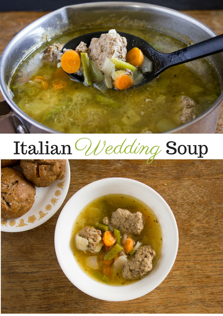 Italian Wedding Soup - I Say Nomato Nightshade Free Food Blog