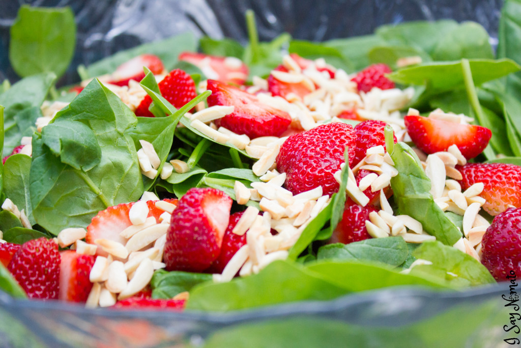 Strawberry Spinach Salad- I Say Nomato Nightshade Free Food Blog maple syrup nightshade free recipes nightshade free diet recipes nightshade free recipes nightshade free diet recipes without nightshades nightshade free foods nightshade free cookbook no nightshade recipes nightshade free cooking pepper free tomato free potato free