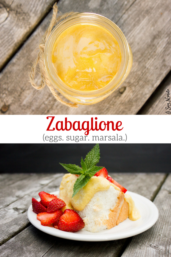 Zabaglione - I Say Nomato Nightshade Free Food Blog