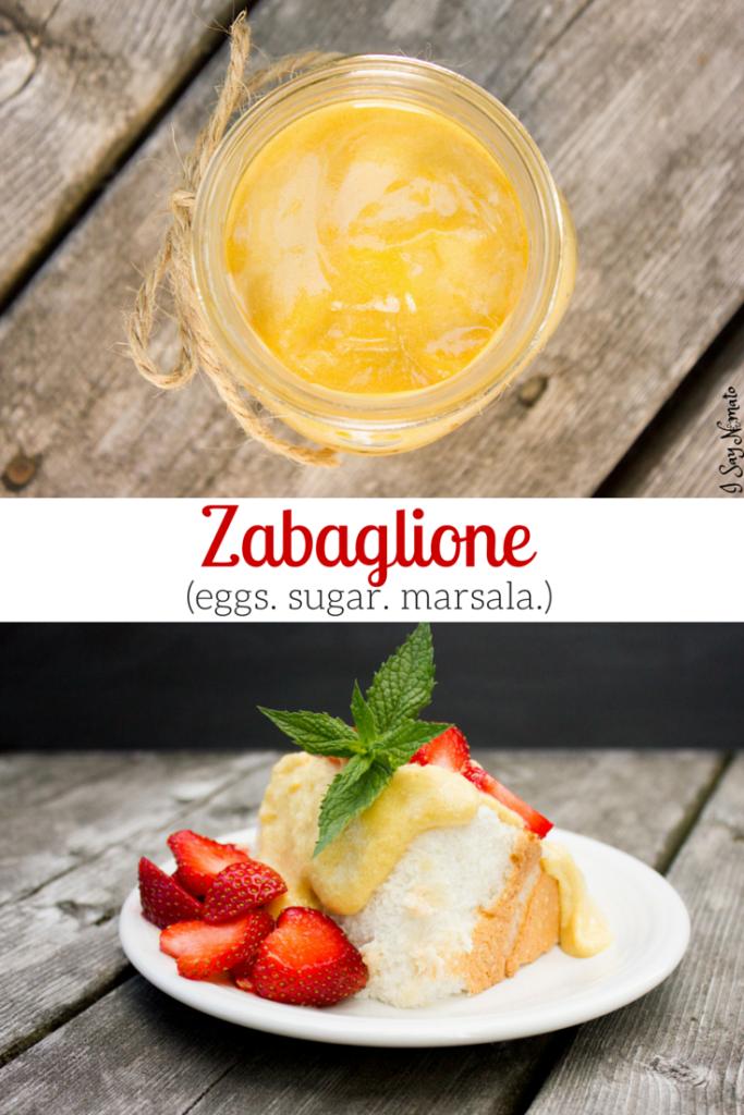 Zabaglione - I Say Nomato Nightshade Free Food Blog