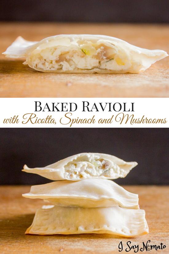 Baked Ravioli - I Say Nomato Nightshade Free Food Blog