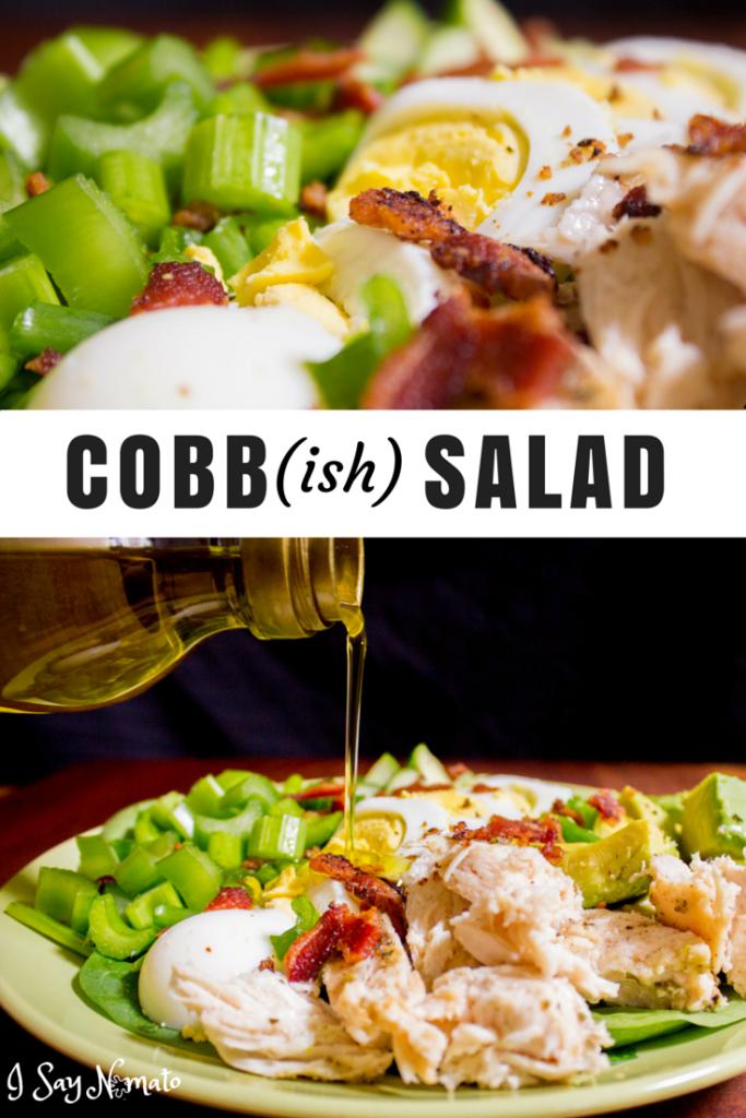Cobb(ish) Salad - I Say Nomato Nightshade Free Food Blog