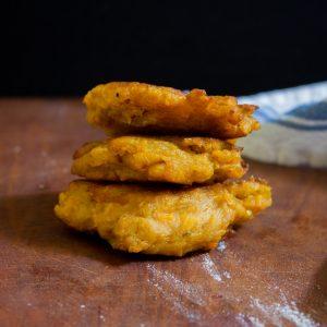 Pan-Fried Sweet Potato Dumplings