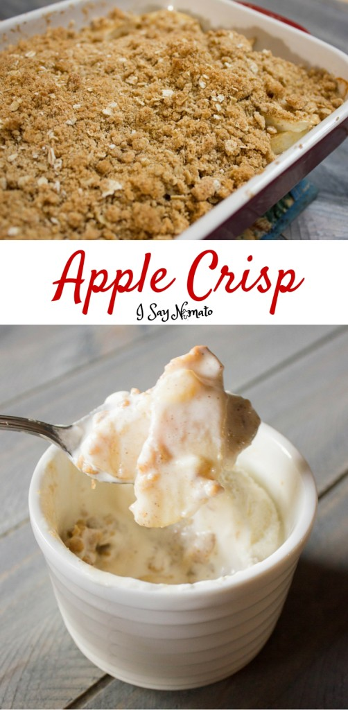 Apple Crisp - I Say Nomato Nightshade Free Food Blog
