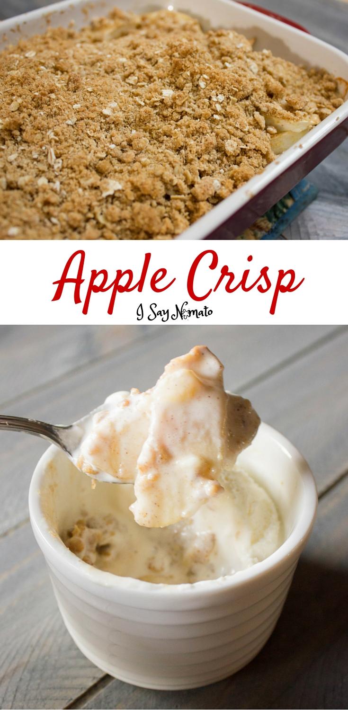 Apple Crisp | I Say Nomato