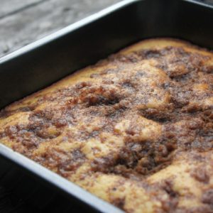 Cinnamon and Brown Sugar Coffee Cake