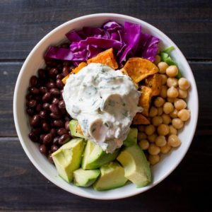 Fall Harvest Salad Bowl