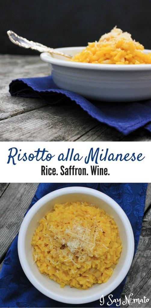 Risotto alla Milanese - I Say Nomato Nightshade Free Food Blog