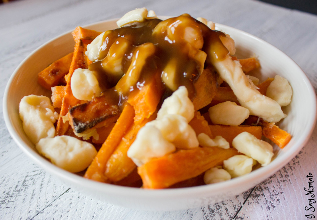 Sweet Potato Poutine - I Say Nomato Nightshade Free Food Blog