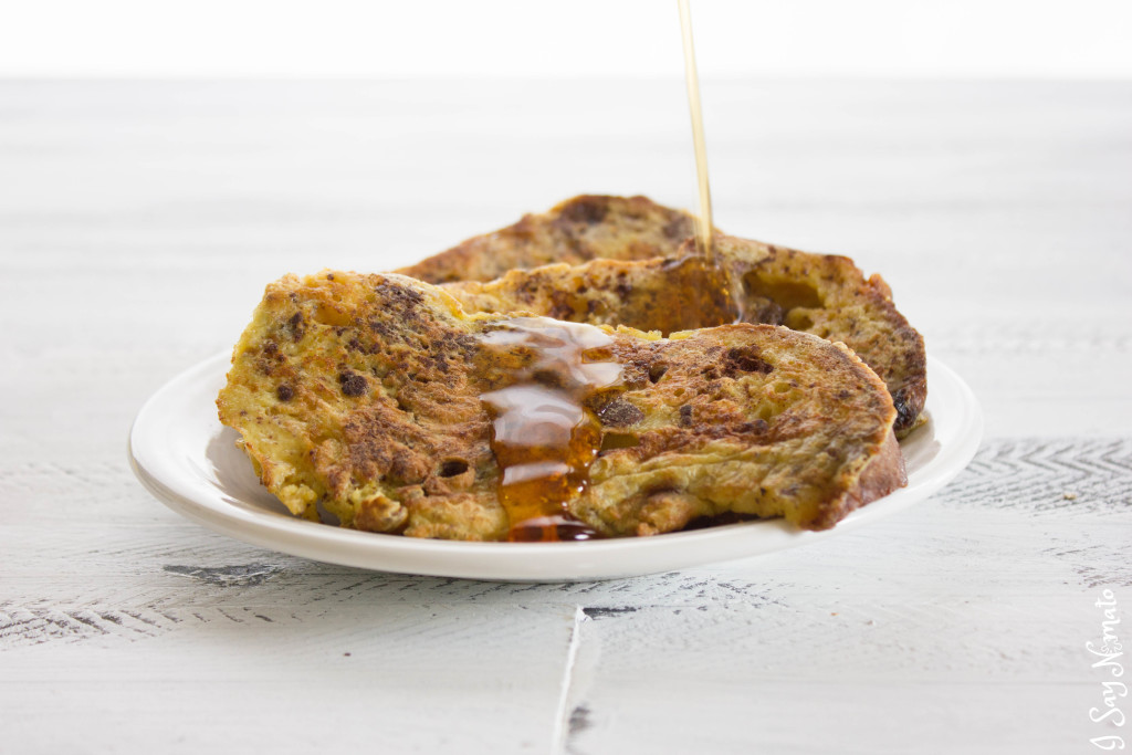 Panettone French Toast - I Say Nomato Nightshade Free Food Blog