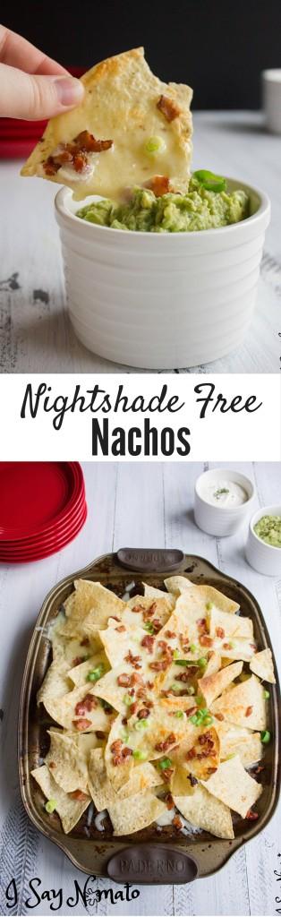 Nightshade Free Nachos - I Say Nomato Nightshade Free Food Blog