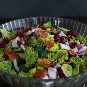 Quick and Easy Broccoli Salad