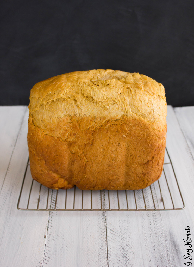 Breadmaker Brown Bread (Molasses Bread) - I Say Nomato Nightshade Free Food Blog