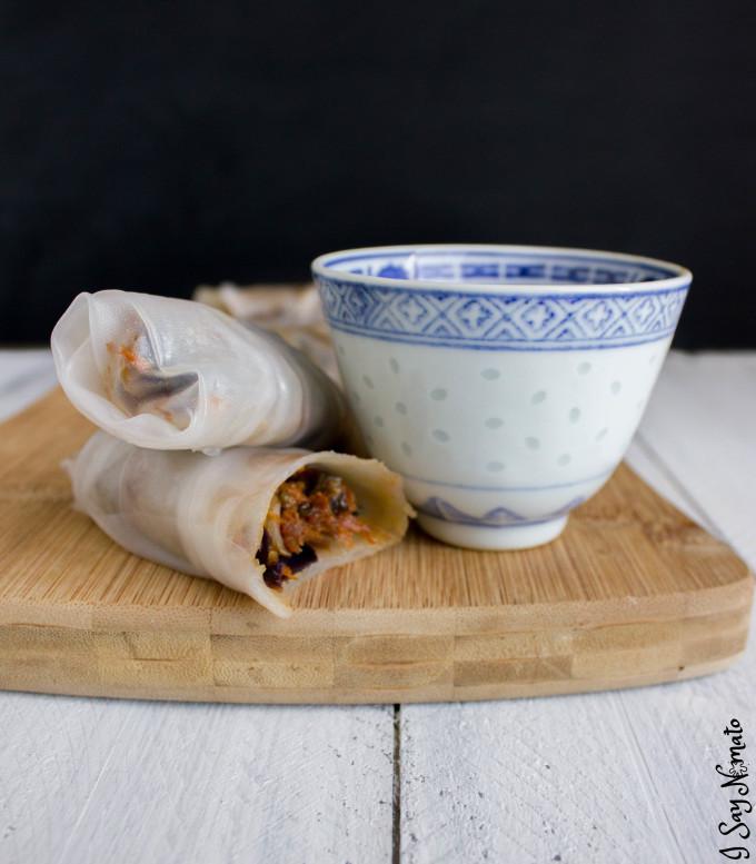 I Wish it Were Spring Rolls - I Say Nomato Nightshade Free Food Blog
