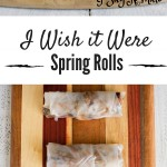 I Wish it Were Spring Rolls - I Say Nomato Nightshade Free Food Blog