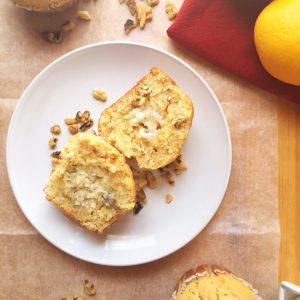 Orange Walnut Muffins from Seasonly Creations GUEST POST!
