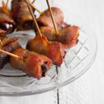 Bacon Wrapped Dates - I Say Nomato Nightshade Free Food Blog