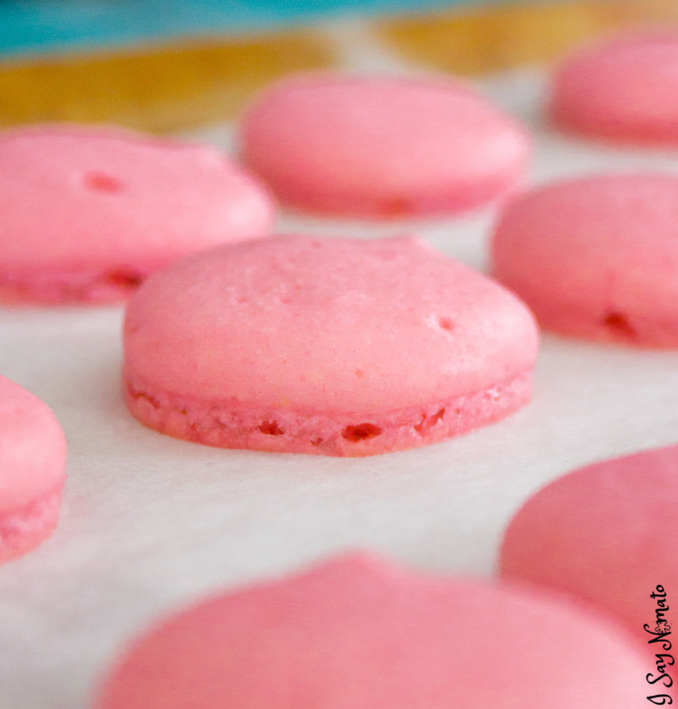 Pink Lemonade Macarons - I Say Nomato Nightshade Free Food Blog