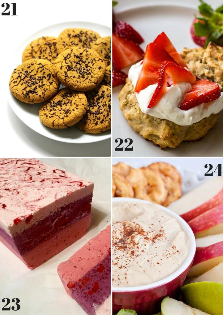 Low Sugar No Sugar Recipe Round Up - I Say Nomato Nightshade Free Food Blog