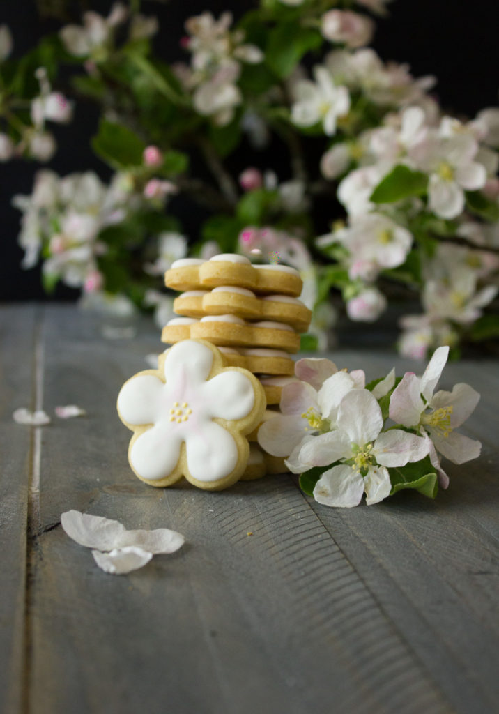 Apple Blossom Sugar Cookies are the most delicious way to celebrate spring!