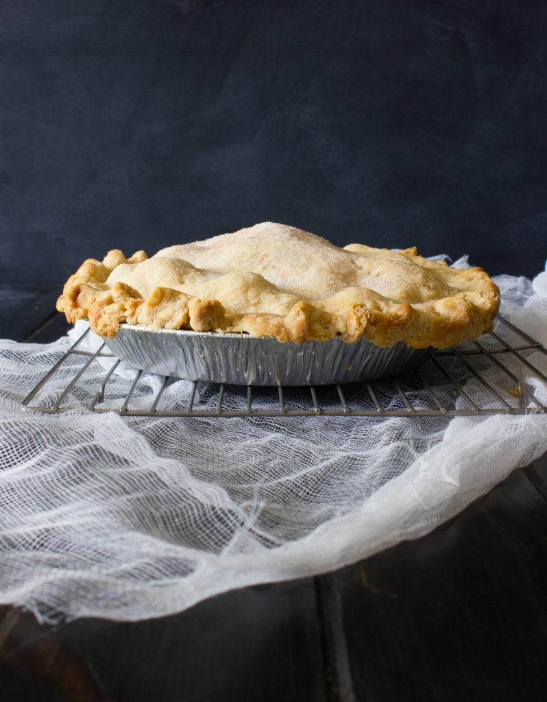 Rhubarb Pie - I Say Nomato