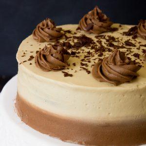 Irish Coffee Chocolate Cake