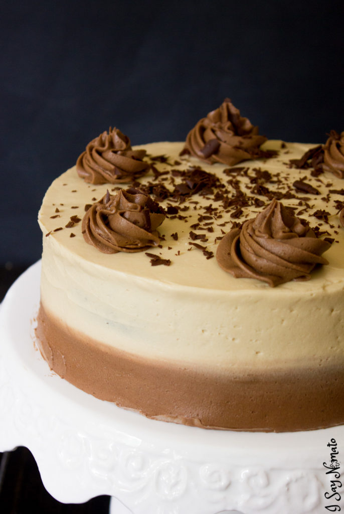 Irish Coffee Chocolate Cake - I Say Nomato