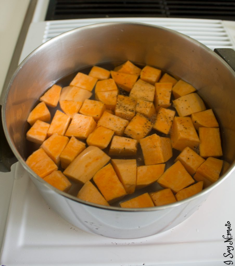 Sweet Potato Hodge Podge - I Say Nomato